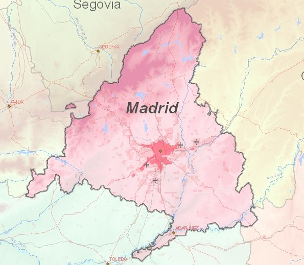 Tourist map of Madrid
