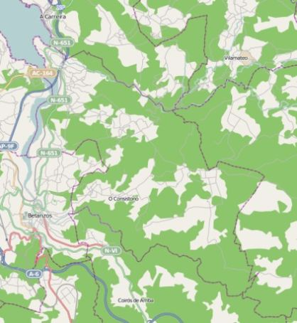 municipality Paderne spain