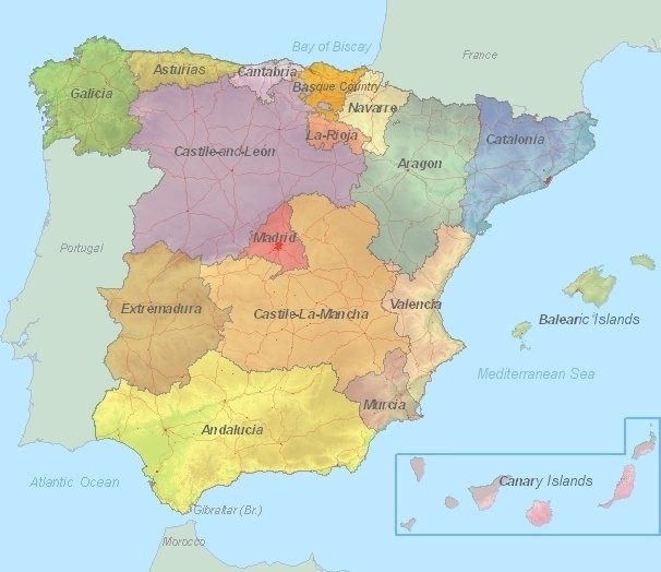 Spain Tourist Attractions – Spain Tourist Attractions Map