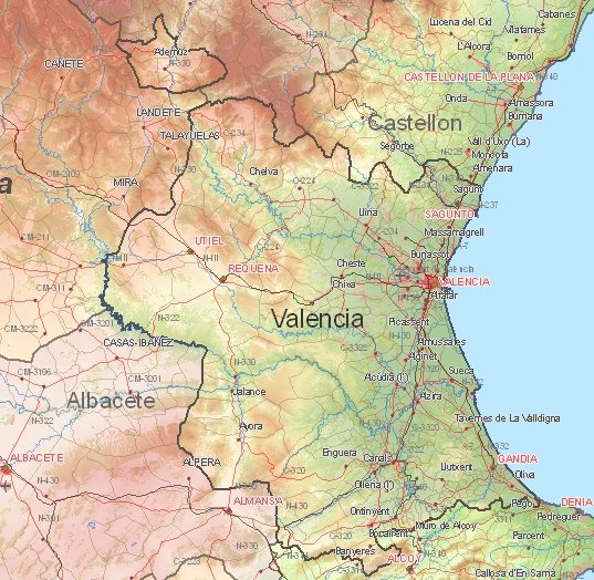 newest 7cfb0 0654a Tourist map of Valencia